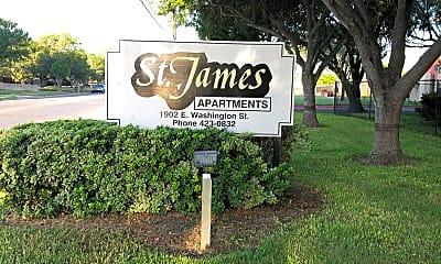 St. James Apartments, 1