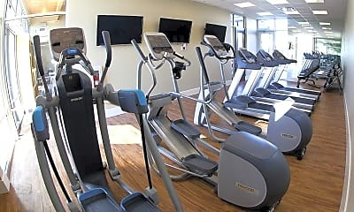 Fitness Weight Room, The Commons, 2