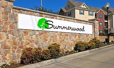Community Signage, Summerwood Apartments, 2