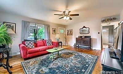 Living Room, 1306 Venice St, 1