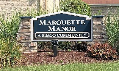 Marquette Manor, 1