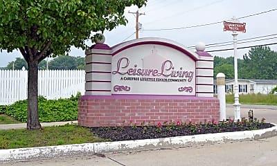 Community Signage, Leisure Living, 2
