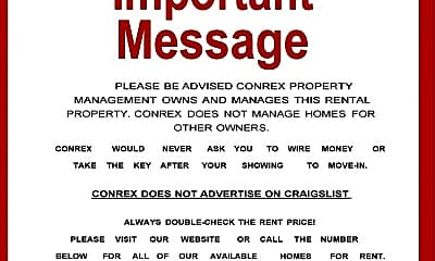 Community Signage, 1069 Cedar Hill Dr, 1