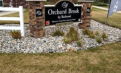 Orchard Brook by Redwood, 1