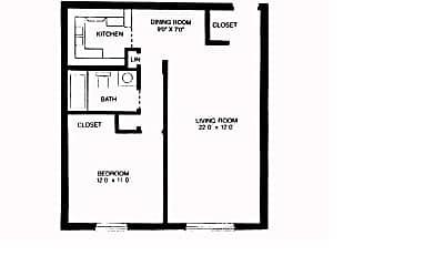 Brownstone Apartments, 1