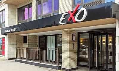 Community Signage, Exo Astoria, 2