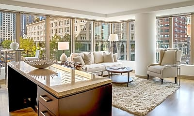 Living Room, One Greenway, 0