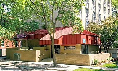 Building, Highlander Private Residence, 1
