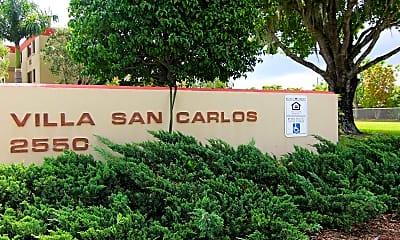 Community Signage, Villa San Carlos, 0