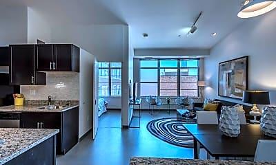 Living Room, The Lofts at East Berkeley, 1