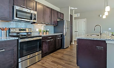 Kitchen, Apex on Quality Hill, 1