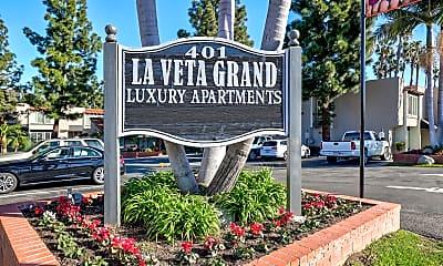 Community Signage, La Veta Grand, 2