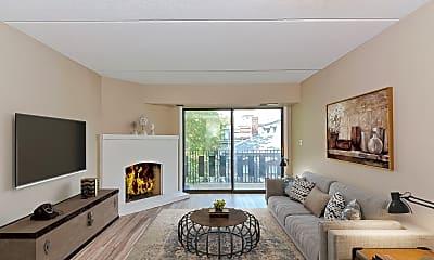 Living Room, 390 Broadway, 1