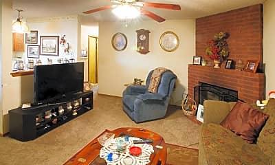 Living Room, Fayetteville Duplexes, 1