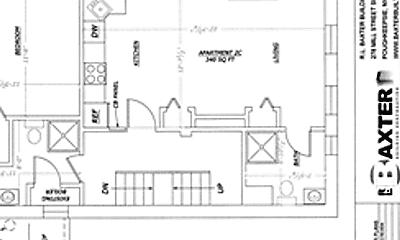 Bathroom, 4 S Cedar St, 2
