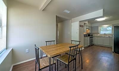 Dining Room, Room for Rent -  a 3 min walk to M L King Blvd @ S, 0