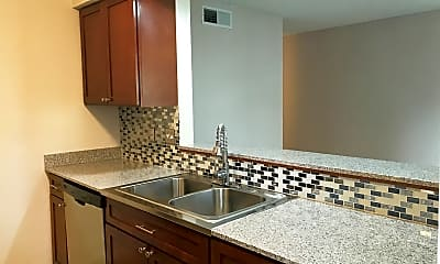 Kitchen, Barton Hills Apartments, 1