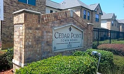 Cedar Point, 1