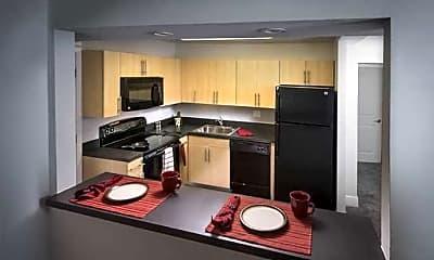 Kitchen, Castlebrook Apartments, 0
