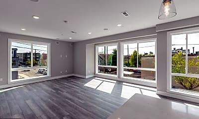 Living Room, 2401 N Mascher St 4, 0