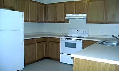 Kitchen, Isanti Village Apartments, 2