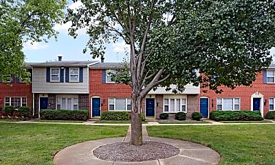 Building, Jamestowne Apartments & Townhomes, 1
