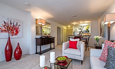 Living Room, Butternut Ridge Apartments, 2