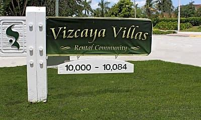 Community Signage, Vizcaya Villas, 2