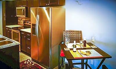 Kitchen, Sunset Tower Apartments, 2