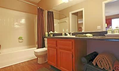 Bathroom, Millbrook Apartments, 2