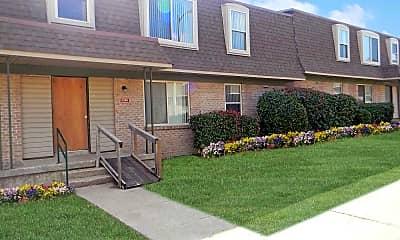 Patio / Deck, Maplewood Apartments, 1