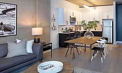 Living Room, 1439 S Michigan Ave, 1