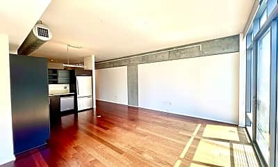 Living Room, 1100 S Hope St 1103, 1