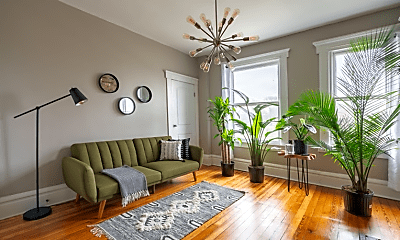 Living Room, 619 Dennison Ave, 1
