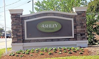 Community Signage, Ashley Station, 2