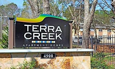 Community Signage, Terra Creek, 0