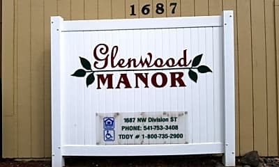 Glenwood Manor, 1