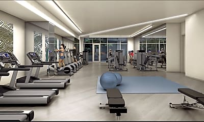 Fitness Weight Room, 1688 Pine Street, Unit #203, 0