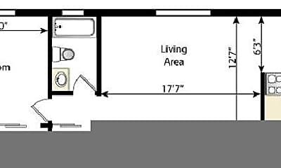 Building, 2475 S Vine St, 2