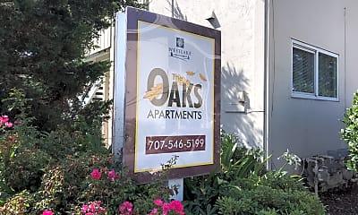 Oaks Apartments, 1