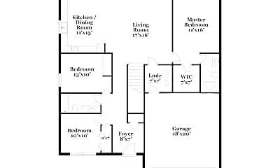Building, 9010 Trinity Cir, 1