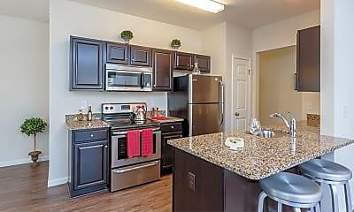 Kitchen, Auburn Creek Apartments, 1