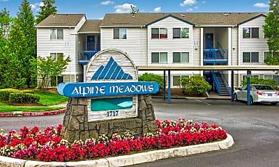 Community Signage, Alpine Meadows, 0