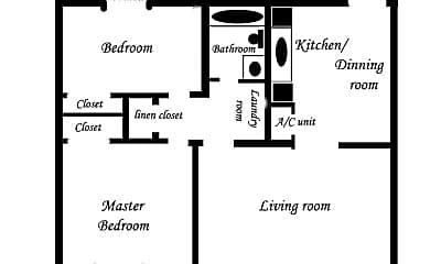 Building, 2821 Club Plaza Rd, 2