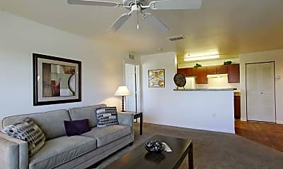 Living Room, Meridian Pointe Apartments, 1