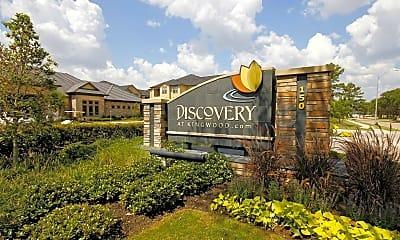 Community Signage, Discovery at Kingwood, 2