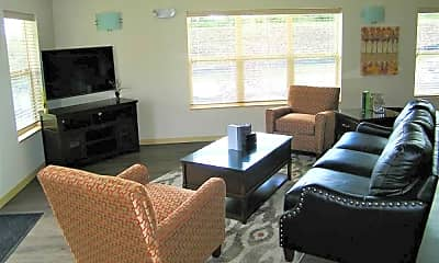 Living Room, Beacon Avenue Cottages, 2
