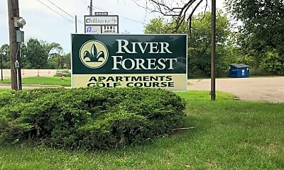 River Forest Apartments, 1
