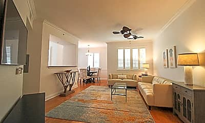 Living Room, 11018 Legacy Dr 104, 0