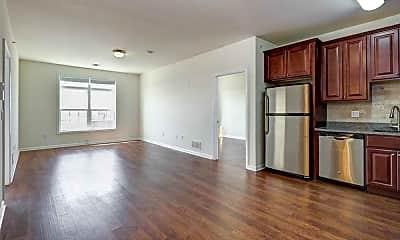 Kitchen, 5609 Jefferson Street Apartments, 0